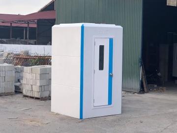 Cabin vệ sinh liền phòng tắm H17.3