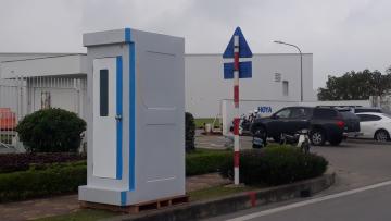 Nhà vệ sinh di động Handy H17.2 được Saigon ECS cung cấp