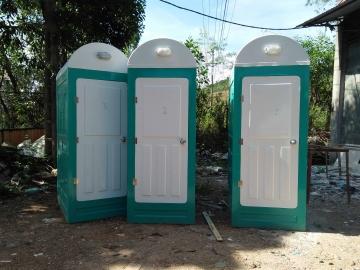 Cho thuê nhà vệ sinh công trường đơn