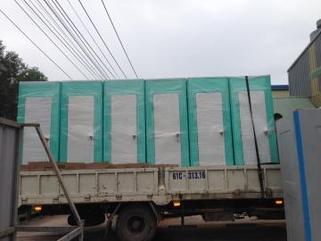 Nhà vệ sinh di động chuẩn bị tết Canh Tý 2020