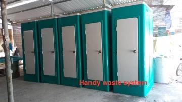 Liên tục xuất xưởng hàng loạt nhà vệ sinh di động HMT06