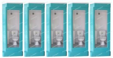 Liên tục xuất xưởng hàng loạt nhà vệ sinh di động HMT01