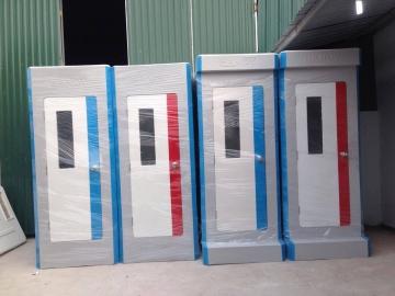 Liên tục xuất xưởng hàng loạt nhà vệ sinh di động