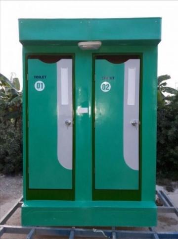 Nhà vệ sinh di động đôi gía rẻ