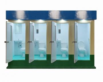 Nhà vệ sinh công cộng cho thuê