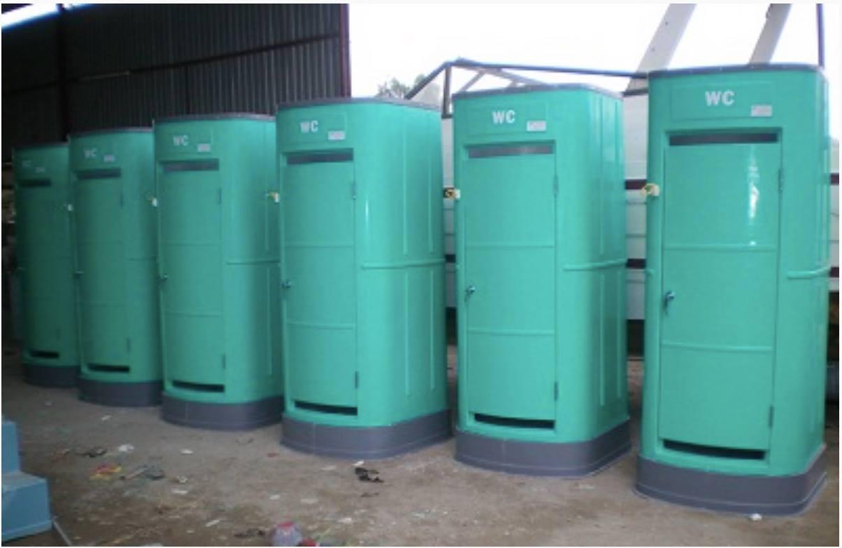 Nhà vệ sinh di động composite giá rẻ