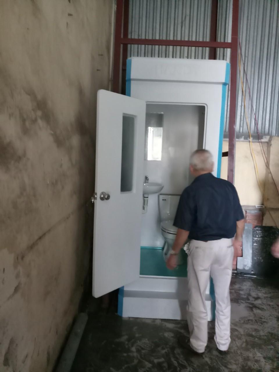 Cung cấp nhà vệ sinh di động chất lượng cao HANDY
