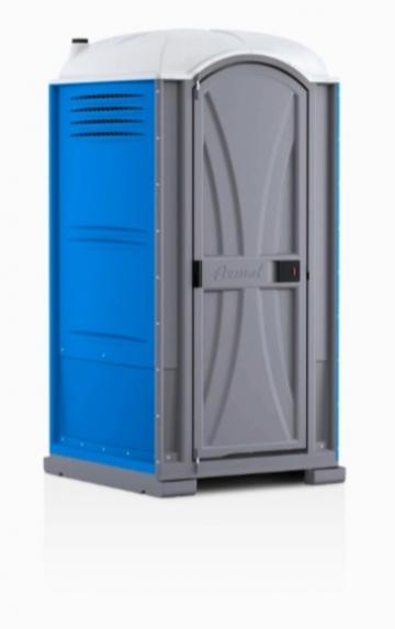 Nhà vệ sinh di động sản xuất tại Mỹ