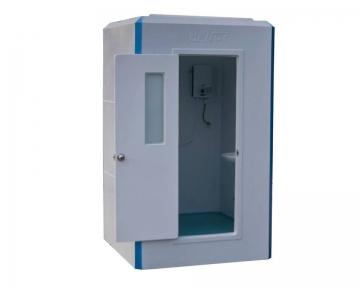 Cabin tắm kiêm nhà vệ sinh công trường