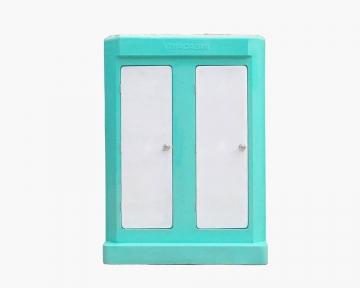 Nhà vệ sinh di động Vinacabin phòng đôi