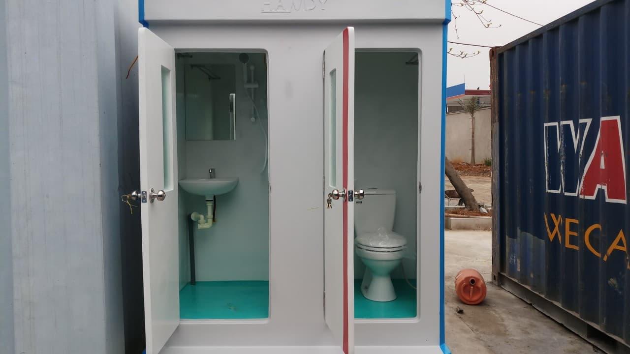 Dịch vụ cho thuê nhà vệ sinh di động có đầy đủ tiện nghi