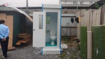 Nhà vệ sinh lưu động chất lượng cao phục vụ thi công