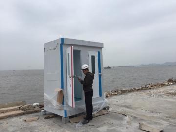 Nhà vệ sinh di động cao cấp phục vụ thi công các công trình biển