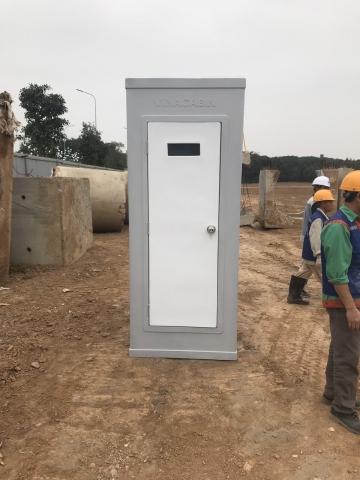 Nhà vệ sinh di động V17.3 tại công trường