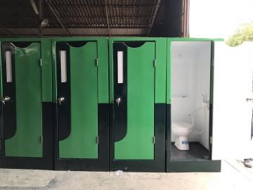 Thanh lý nhà vệ sinh di động