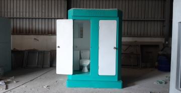 Nhà vệ sinh di động đôi Vinacabin V17.2T
