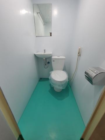 Nội thất nhà vệ sinh di động  V18 series
