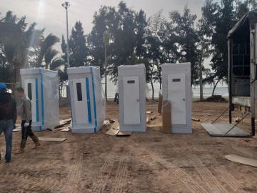 Sản phẩm toilet composite cao cấp