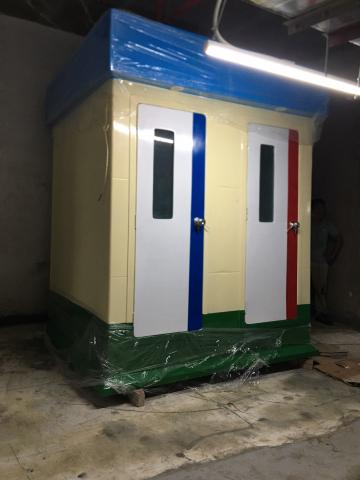 Cabin vệ sinh 2 buồng