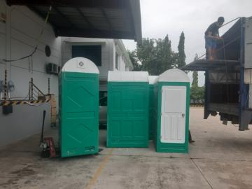 Nhà tắm di động phục vụ cách ly sản xuất tại chỗ
