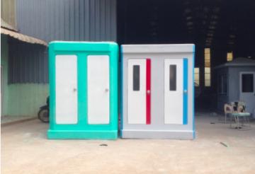Nhà vệ sinh composite đôi