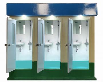 Phòng tắm công cộng 3 buồng