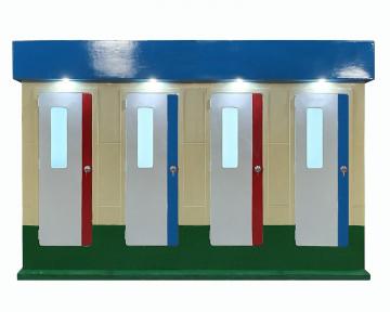 Nhà vệ sinh công cộng nhiều phòng