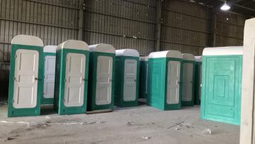 Nhà vệ sinh di động giá rẻ dành cho cách ly tại chỗ hoặc công trường xây dựng