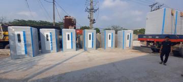 Nhà vệ sinh di động 2 chức năng tắm + vệ sinh