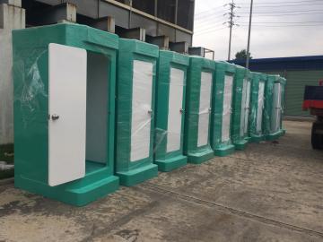 Cung cấp nhà tắm di động cho công ty Luxshare