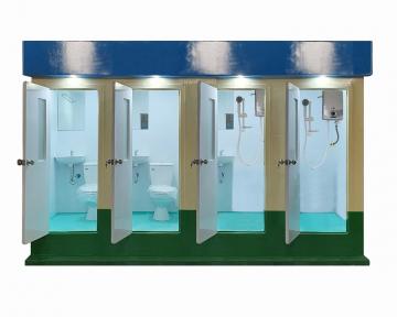 Nhà vệ sinh cộng cộng V18.4W